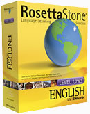 Rosetta Stone English Language Learning Software