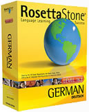 Rosetta Stone German Language Learning Software
