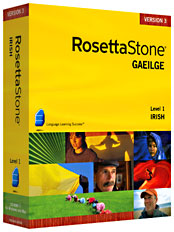 Rosetta Stone Irish Gaelic Language Learning Software