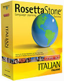 Rosetta Stone Italian Language Learning Software