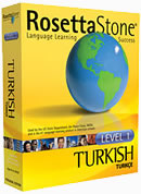 Rosetta Stone Turkish Language Learning Software